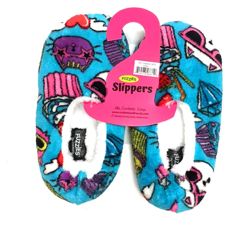 Cats Slippers Large
