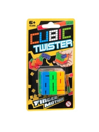 Cubic Twister Finger Motion