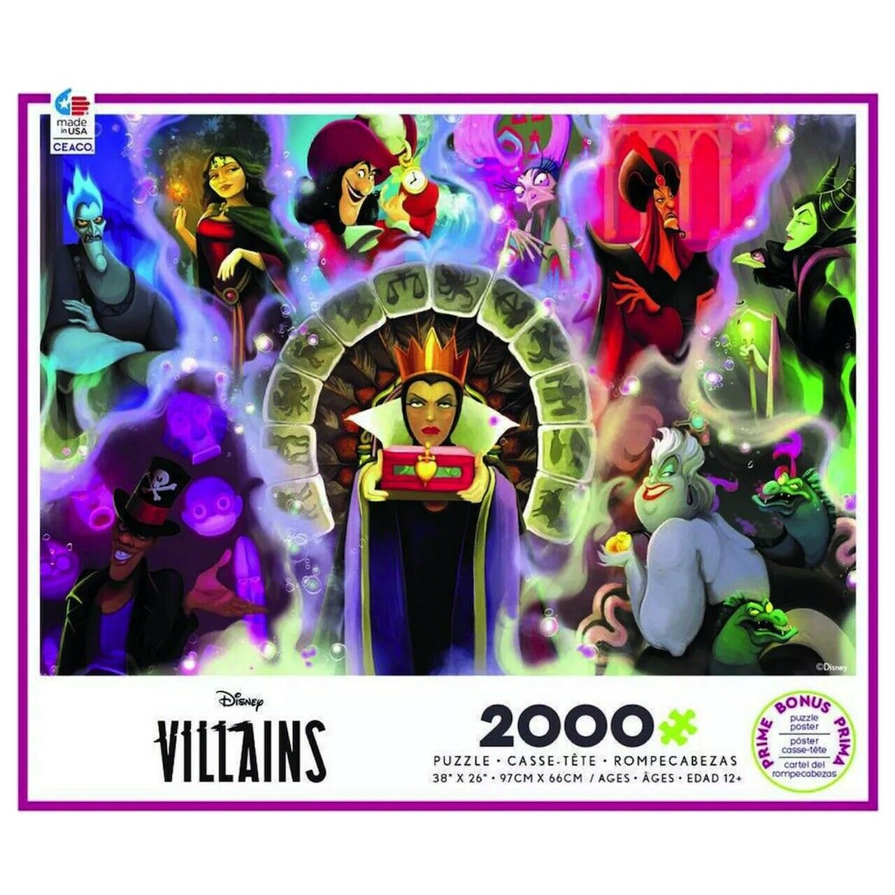 Disney Villains 2000 Piece