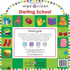 Wipe Clean Starting School