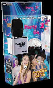 Party 2 Go Mic Gold