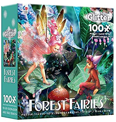 Forest Fairies 100 Pieces Glitter