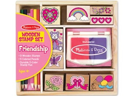 Friendship Wooden Stamp Set