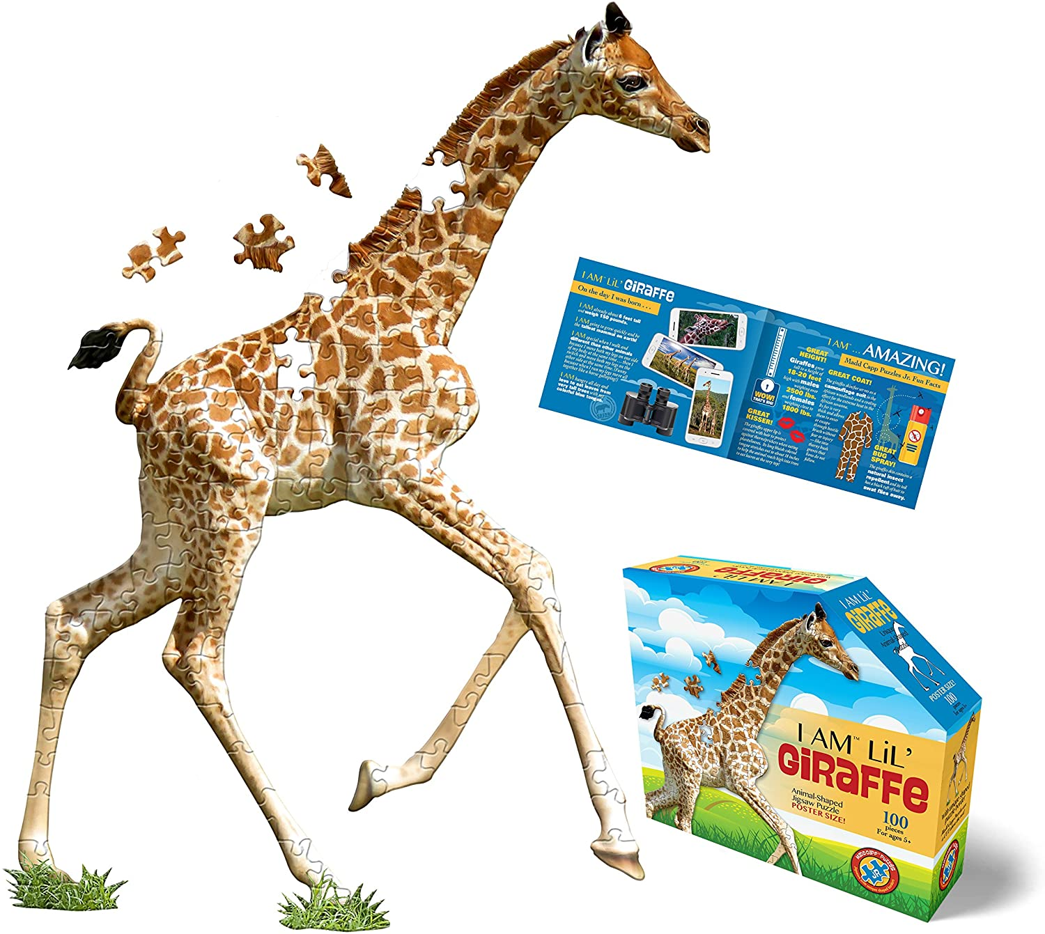 I am Lil' Giraffe 100 Pieces
