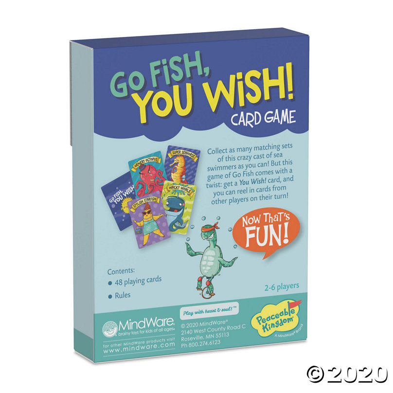 Go Fish, You Wish!