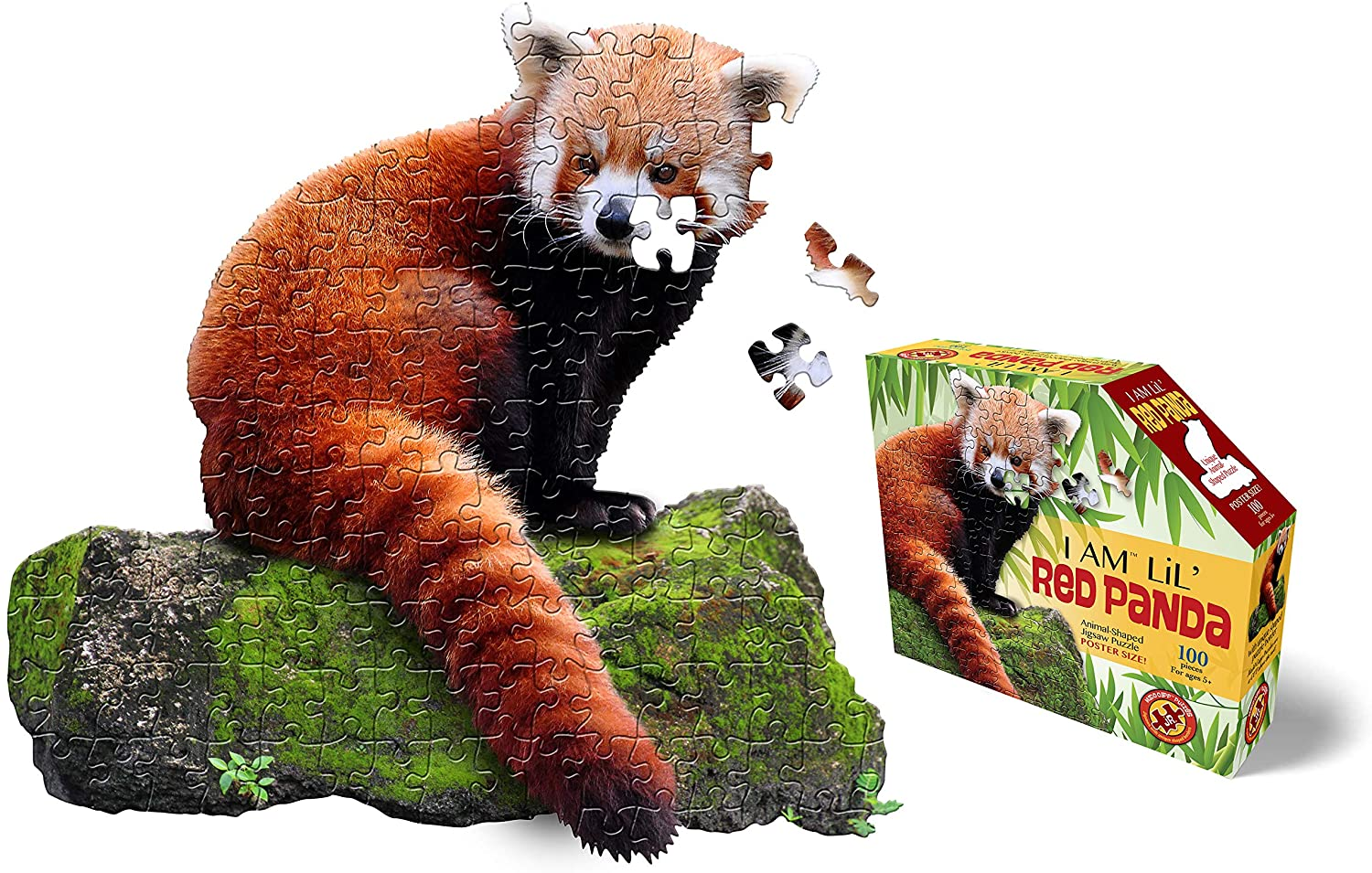 I am Lil' Red Panda 100 Pieces