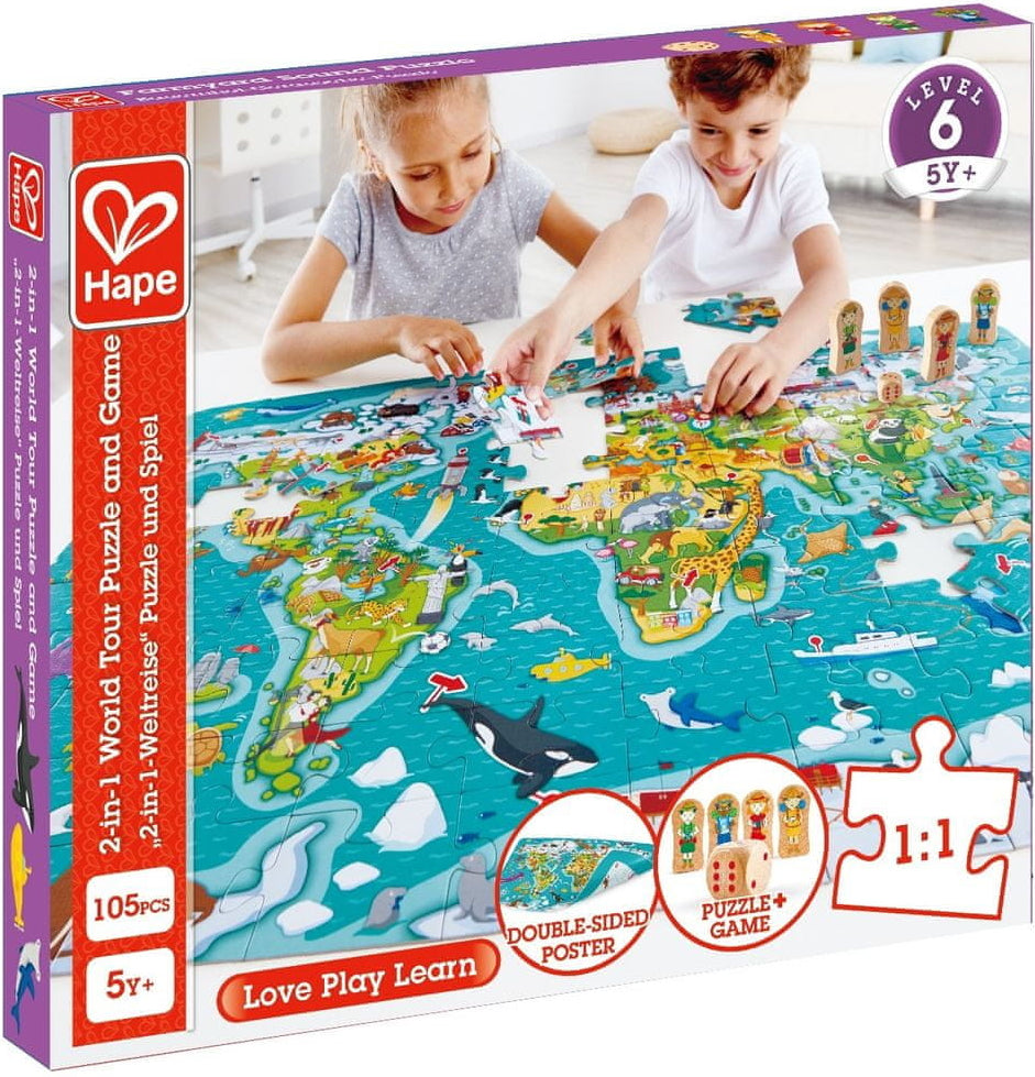 World Tour Puzzle and Game