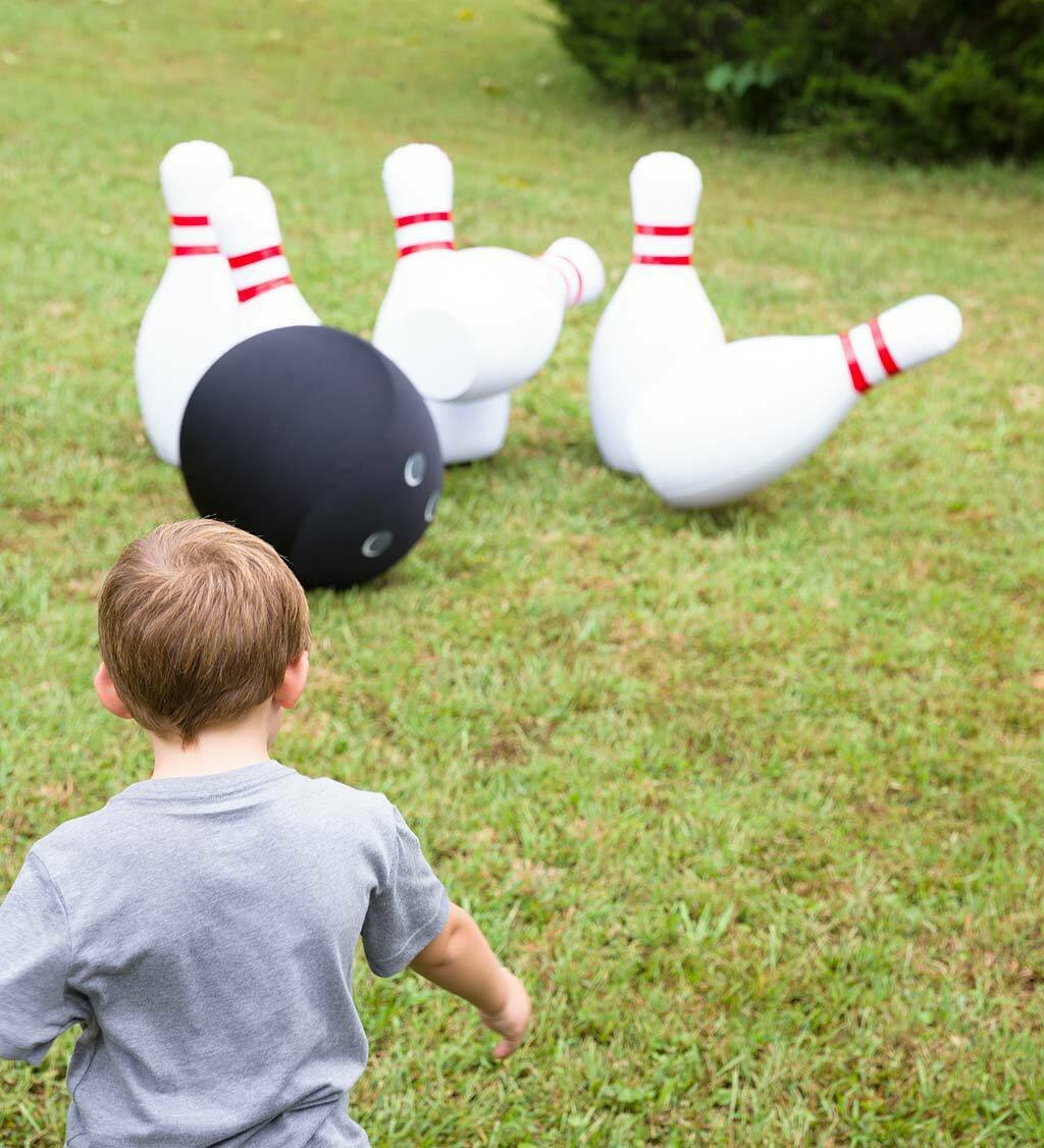 Giant Inflatable Bowling Family Game