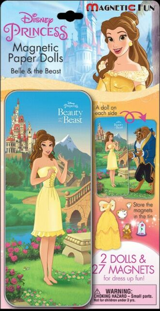 Beauty & the Beast - Magnetic Paper Dolls