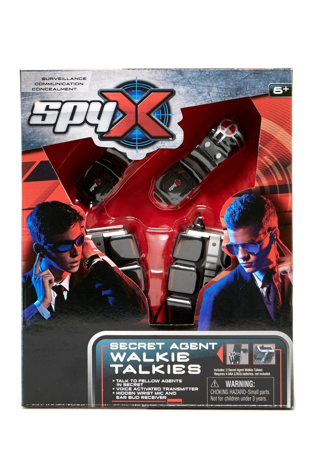 Secret Agent Walkie Talkies