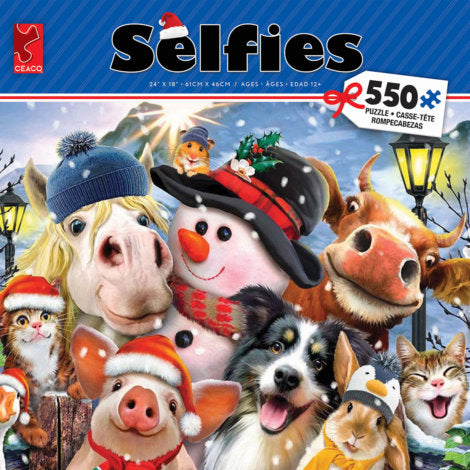 Selfies Christmas 550 Pieces