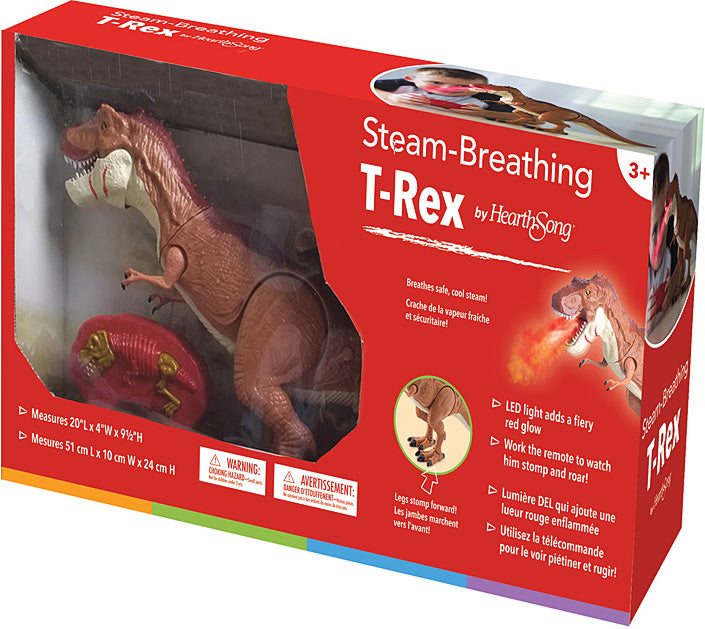 Steam-Breathing T-Rex
