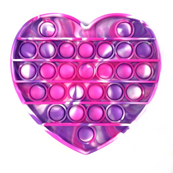 Tie Dye Heart Poppers Assorted