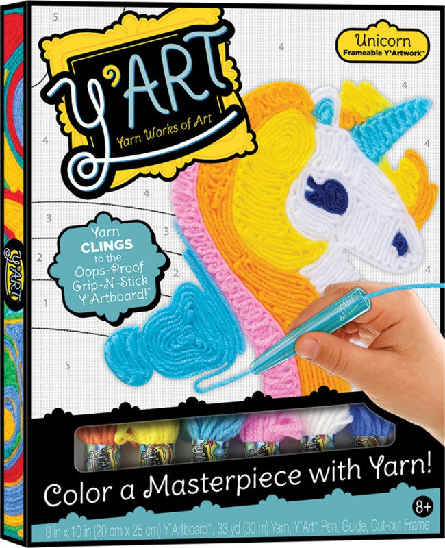 Y'Art Yarn Works of Art Unicorn