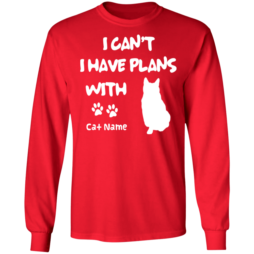 Personalized I Can't I Have Plans With My Russian Blue