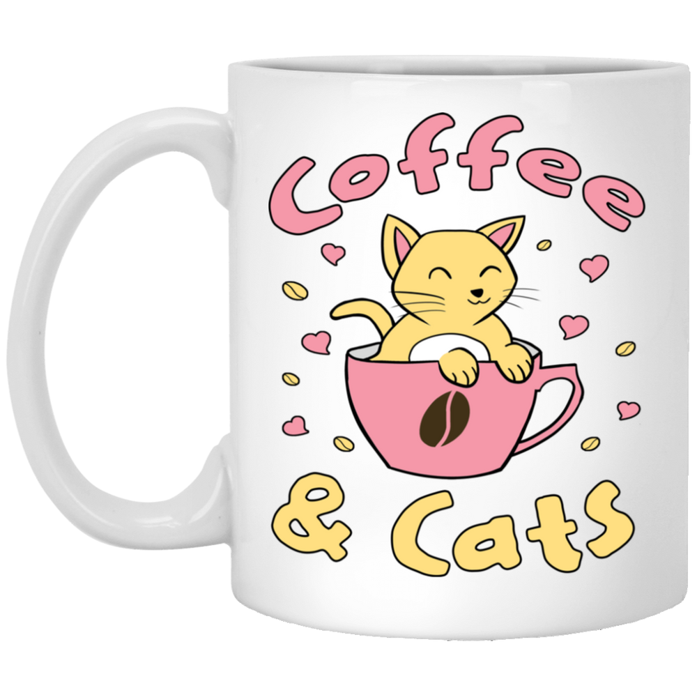 Coffee & Cats Mug