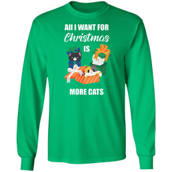 All I Want For Christmas Is More Cats