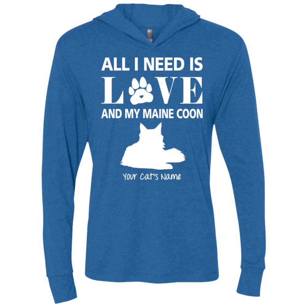 Personalized All I Need Is Love And My Maine Coone