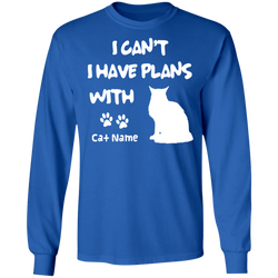 Personalized I Can't I Have Plans With My Maine Coone