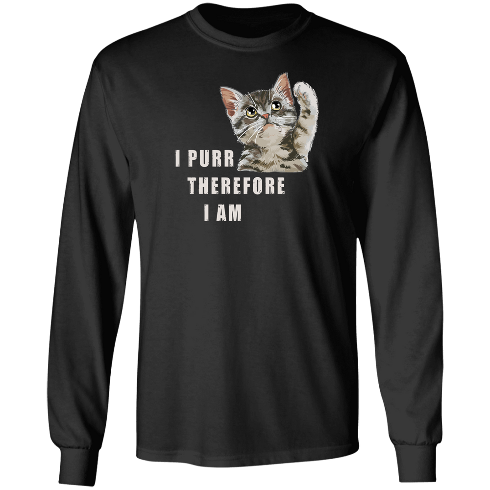 I Purr Therefore I Am