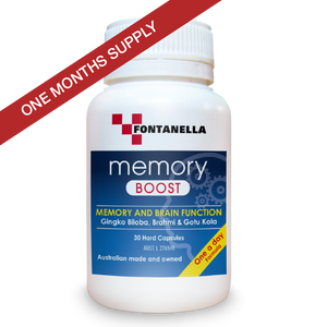 Memory Boost – 1 Months Supply + FREE Delivery