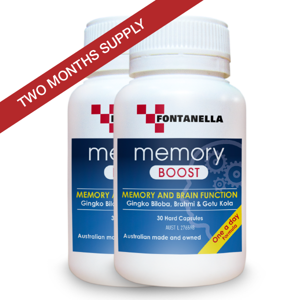 Memory Boost – 2 Months Supply + FREE Delivery