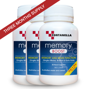 Memory Boost – 3 Months Supply + FREE Delivery