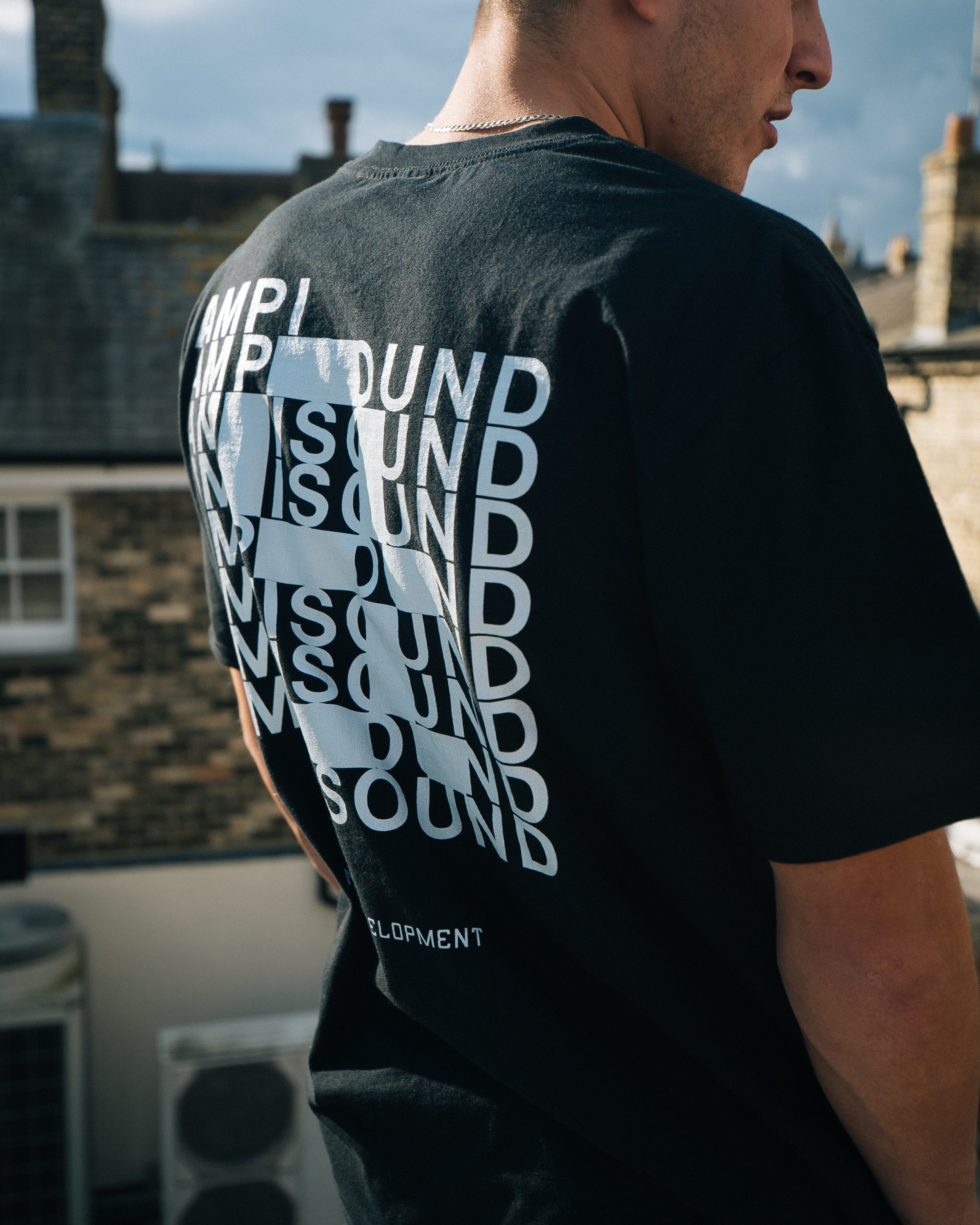 AMPISOUND // Typography T-Shirt