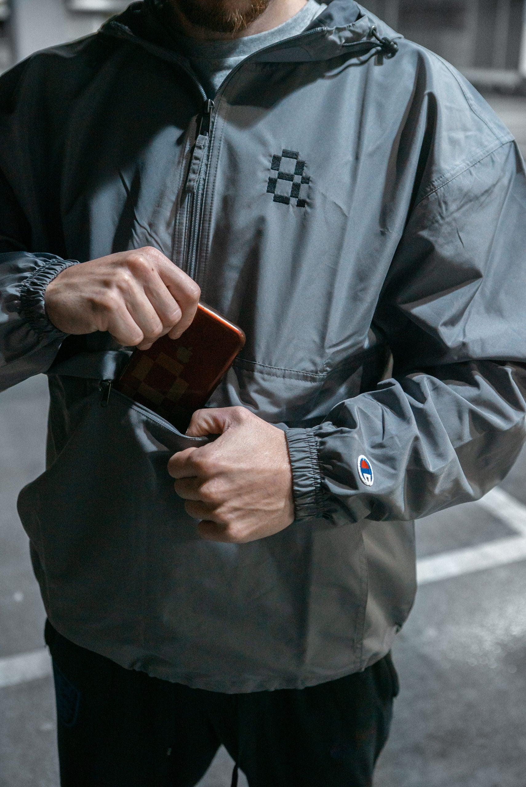 CHAMPION X AMPISOUND // Packable Jacket