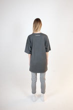 Load image into Gallery viewer, OVERSIZED LOGO T-SHIRT - WASHED GRAY