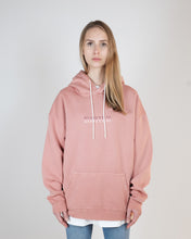 Load image into Gallery viewer, DEATH OF HAPPINESS OVERSIZED HOODIE - WASHED SALMON