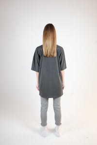 NEVER BE LIKE YOU OVERSIZED T-SHIRT - WASHED GRAY