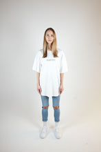 Load image into Gallery viewer, LIES OVERSIZED T-SHIRT - WASHED OFF-WHITE
