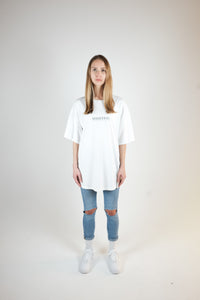 LIES OVERSIZED T-SHIRT - WASHED OFF-WHITE