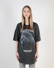 Load image into Gallery viewer, NEVER BE LIKE YOU OVERSIZED T-SHIRT - WASHED GRAY