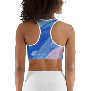 Bubble sport bra