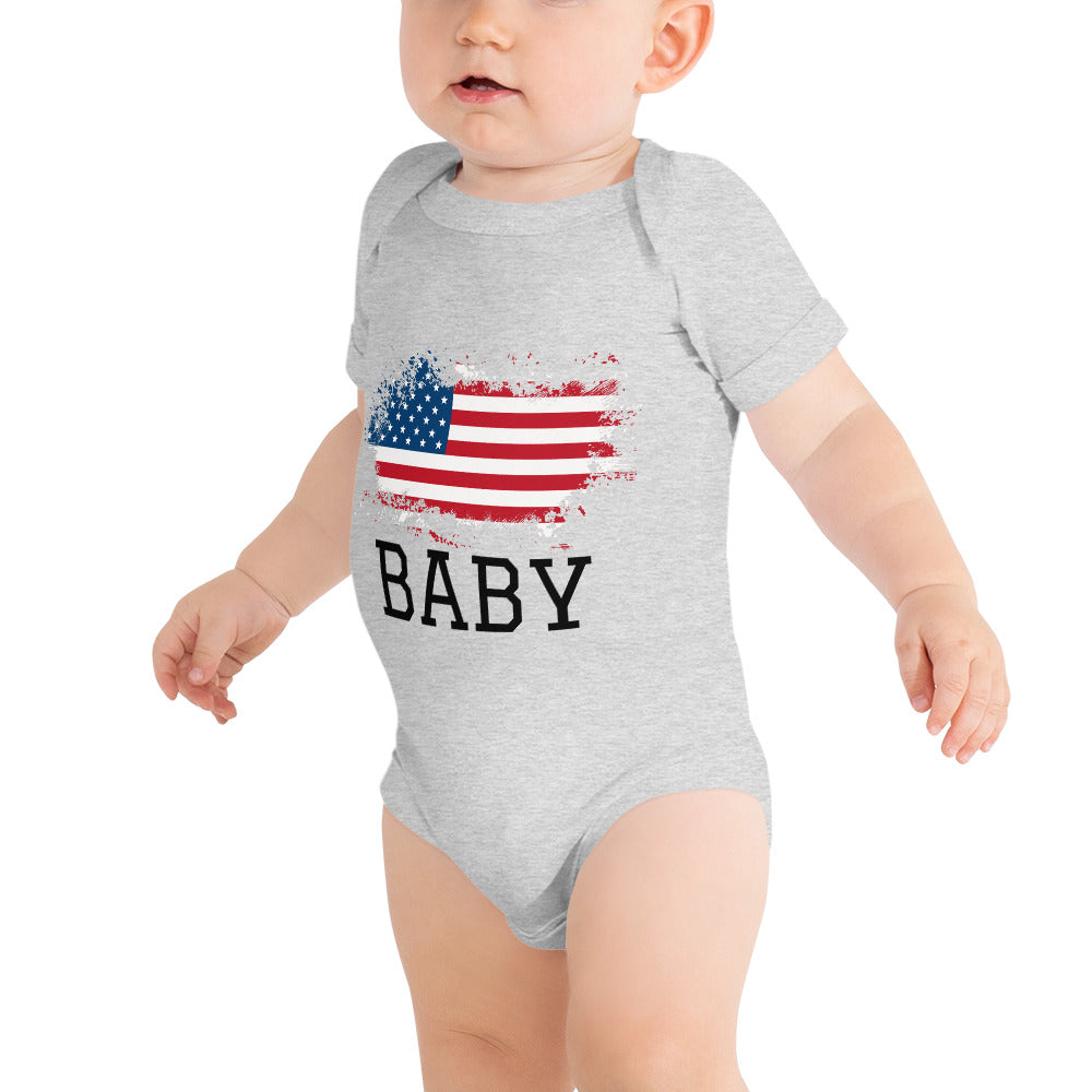 Baby bodysuit white