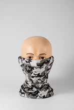 Load image into Gallery viewer, Gray Camo Face Covering