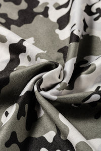 Gray Camo Face Covering