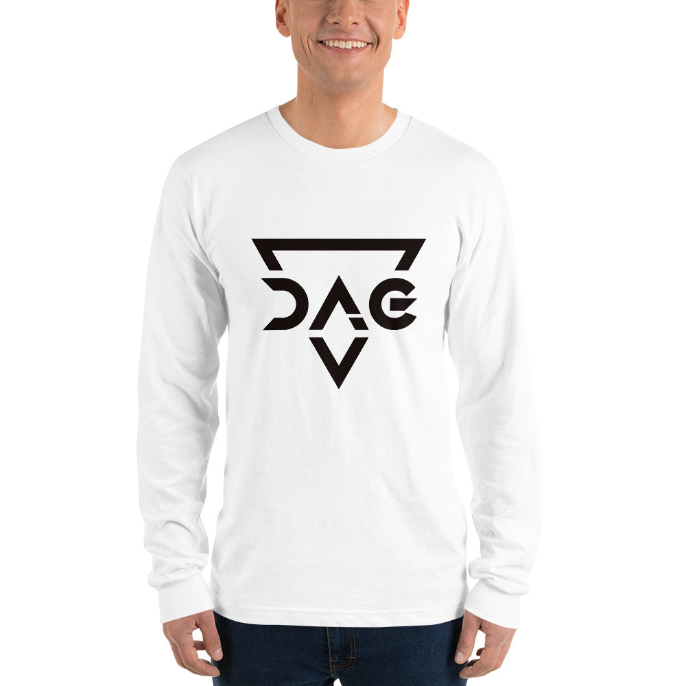 DAG Long sleeve t-shirt White - Six Feet Away