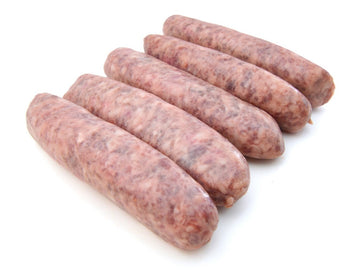 Thick Beef Sausages 100g