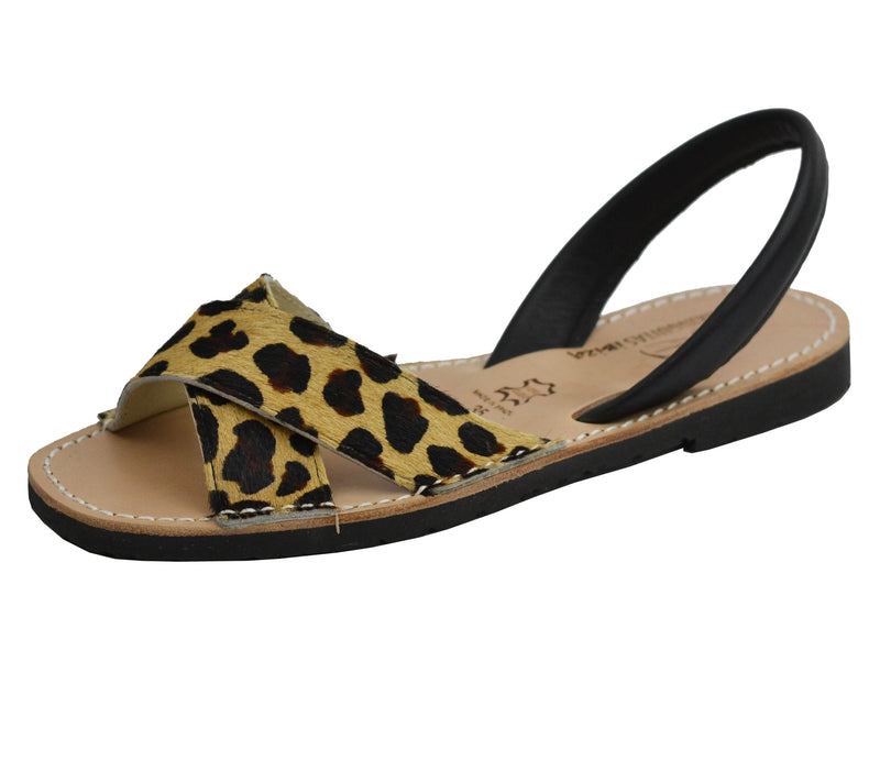 Canario Leather Leopard