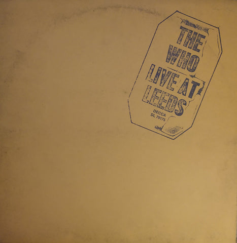 The Who - Live At Leeds (VINYL SECOND-HAND)