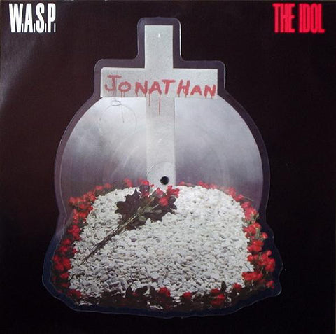 W.A.S.P - The Idol - SHAPED PICTURE EP - (VINYL SECOND-HAND)