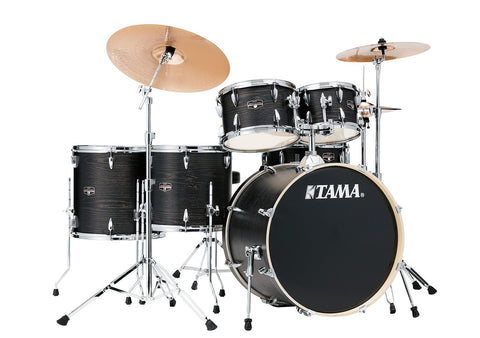 Tama Imperial 6-del m/cymb. Black Oak Wrap