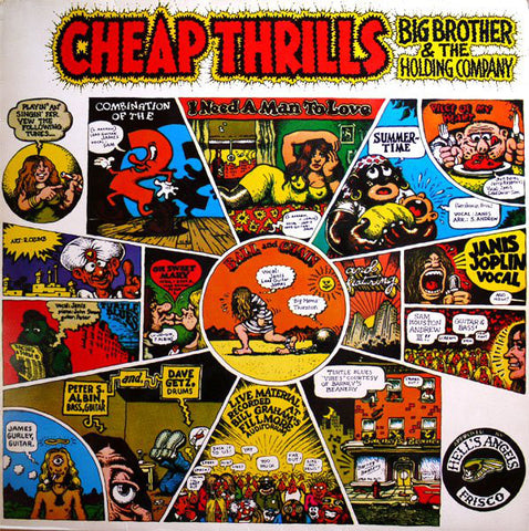 Big Brother & The Holding Company – Cheap Thrills (VINYL SECOND-HAND)