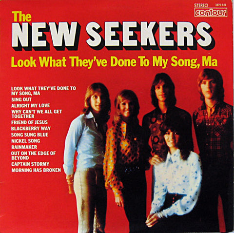 The New Seekers - Look What They've Done To My Song, Ma (VINYL SECOND-HAND)