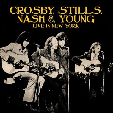 Crosby, Stills, Nash & Young: Live In New York (2CD)