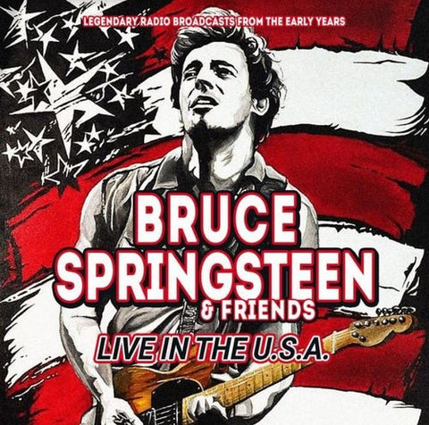 Bruce Springsteen -  Live In The USA - Radio Broadcasts (CD)