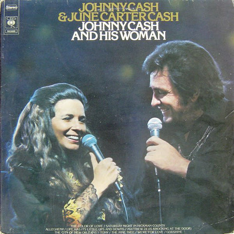 Johnny Cash & June Carter - Johnny Cash And His Woman (VINYL SECOND-HAND)
